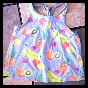 Baby GAP Fruit Tank with Racer Back Detail